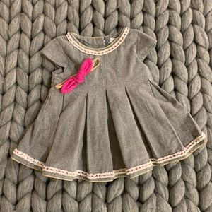 Grey Infant occasion dress